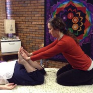 Facilitated Healing Leg Stretch